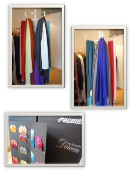 Damenschal, Stoffe, Seide, Kleid, Damenmode maßgeschneidert